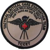 Tactical Critical Care Evacuation Team (TCCET)